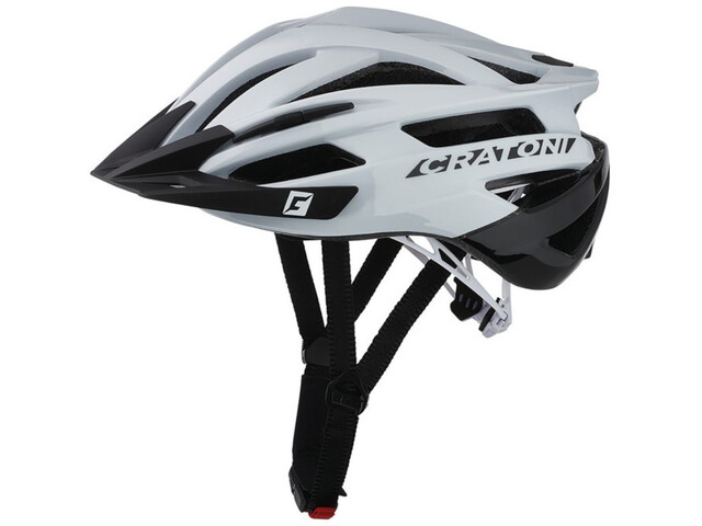 Cratoni Agravic MTB Helmet white/black gloss